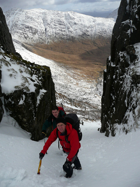 Gully on Ben Cruachan