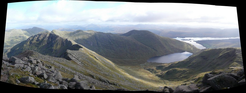 View from top of Ben Cruachan.