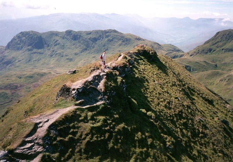Meall Garbh on the Tarmachan Ridge.
