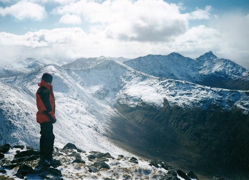 Sgurr na Ciche from the top of Sgurr Mor.