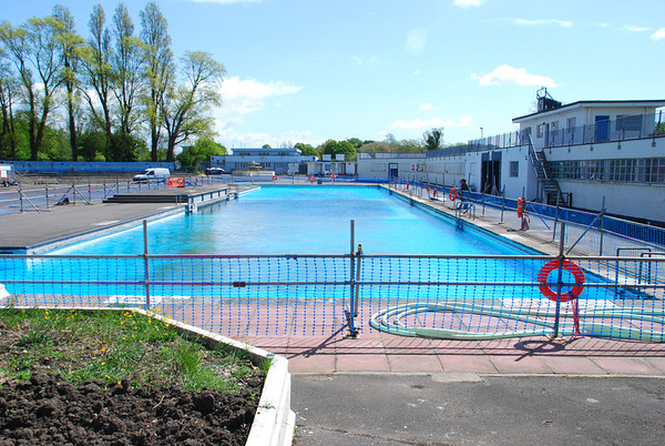 The far end of the Lido near the Male change
