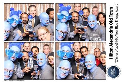 Hilton Alexandria Old Town Blue Energy Award Event Photo Booth