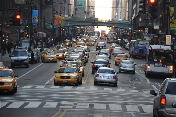 Exteriors: 42nd Street Driving