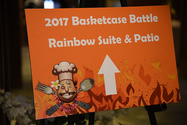 Basketcase Battle- Rainbow Suites  5-8-17