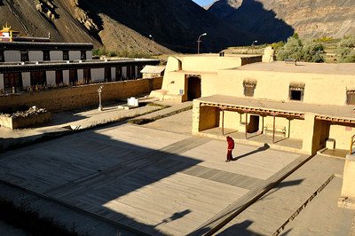 Early morning Tabo monastery