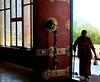 Entrance of Kaza monastery