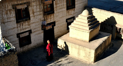 Near the entrance of Tabo Monastery