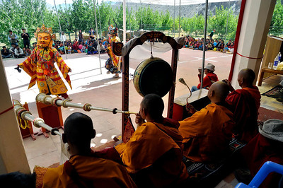 Tabo monastery dances