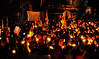Candle light procession in Mcleodganj for the self-immolations in Tibet