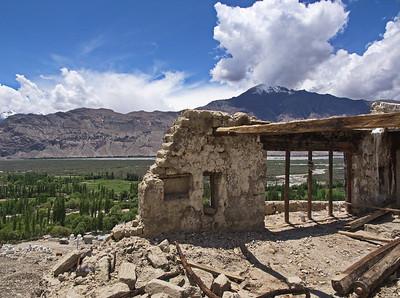 Zamskhang Palace ruins, Sumur, Nubra Valley