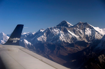 Nepal: Himalaya mountain flight