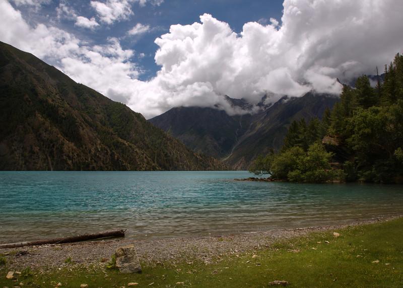 Phoksundo Lake, Northern end