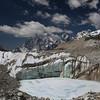 Glacial pool, Khumbu glacier