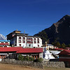 Tengboche monastery. This is a new version as the old one burnt down about 15 years ago.