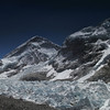EBC and the Khumbu glacier