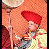 Phyang monastery  band - the drummer