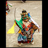 Phyang monastery; masked dancer