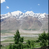 Near Karcha looking over the Zanskar river valley towards Padum, which is the areas main town.