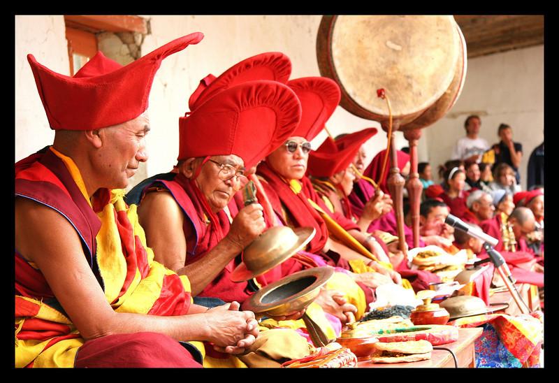 Phyang monastery  band