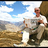 Here I am at the top of Hanuma La in the Zanskar -4730m and feeling every meter of it !
