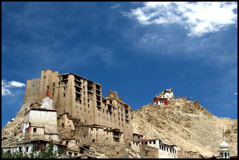 Old Palace at Leh, Ladakh