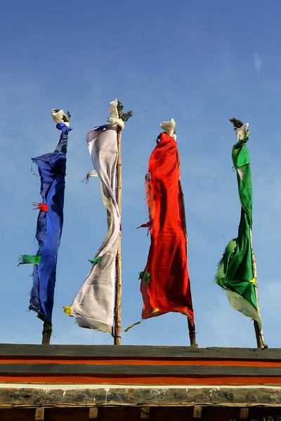 Windhorses at Kagbeni