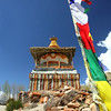 Chorten in Geiling valley