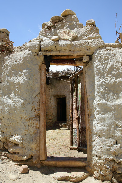 Doors in the Chosur village