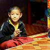 Monastery pupil earning plenty of tips !