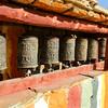 Geiling prayer wheels