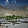 Tiragaon; this is on the western side of the river with the Kagbeni to Cheile road running on the eastern side before crossing the river to Cheile. Going West up this valley takes you into the Upper Dolpo region near Dho Tarap (see my Dolpo chapter).