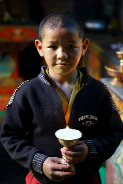 Monastery pupil