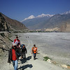 Looking back towards Jomsom