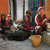 Lo Manthang ladies weavers club