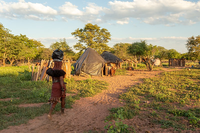 Himba village, northen Namibia Africa