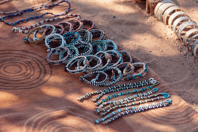 traditional souvenirs from himba peoples, Africa