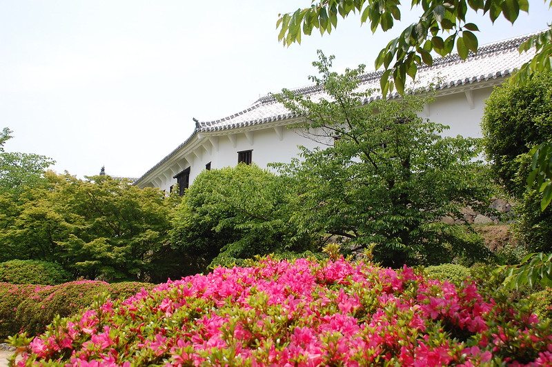Himeji Castle's Nishi-no-maru (west bailey)