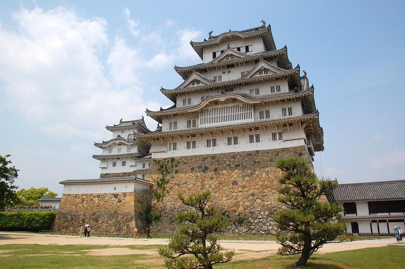 The main tower (donjon) of Himeji Castle
