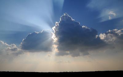 Cumulus mediocris (Cu med)