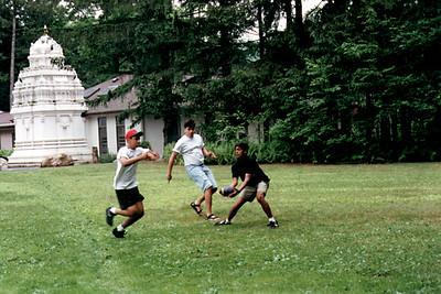 Hindu Campers Play Football at the Hindu Youth Camp of Sri Venkateswara Temple (Pittsburgh, PA)