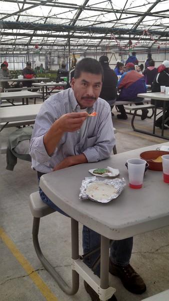 Andres Leon Xmas dinner