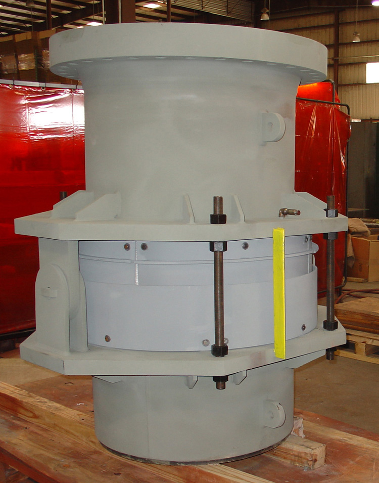 Hinged Expansion Joint with Refractory Lining (#87077 - 03/28/07)