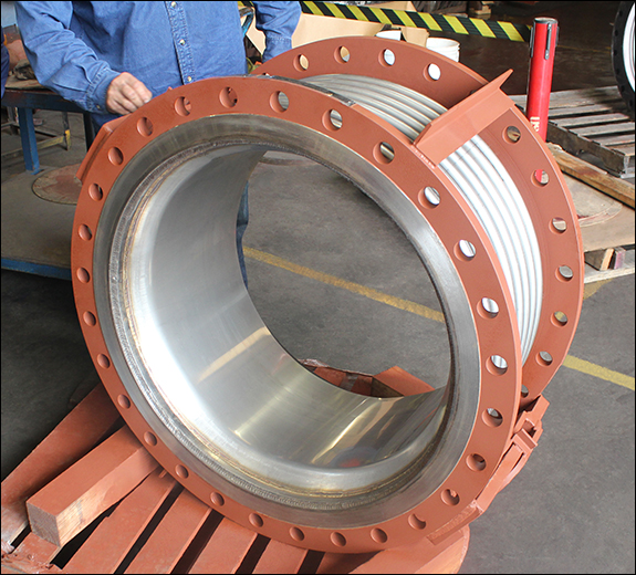 "30"" Dia. Hinged Expansion Joints (#141772 - 02/15/2016)"