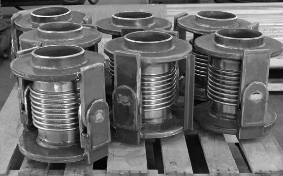 Single Hinged Expansion Joints (#129830 - 01/04/2014)