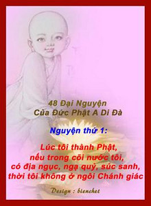 48 lời nguyện Phật A Di Đà