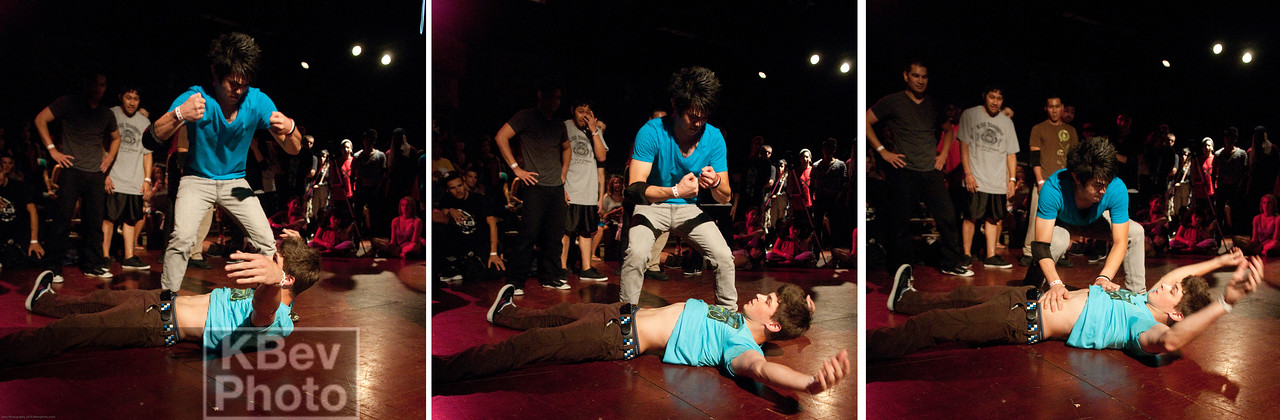 When you have a BBoy down, you need to administer CPR
