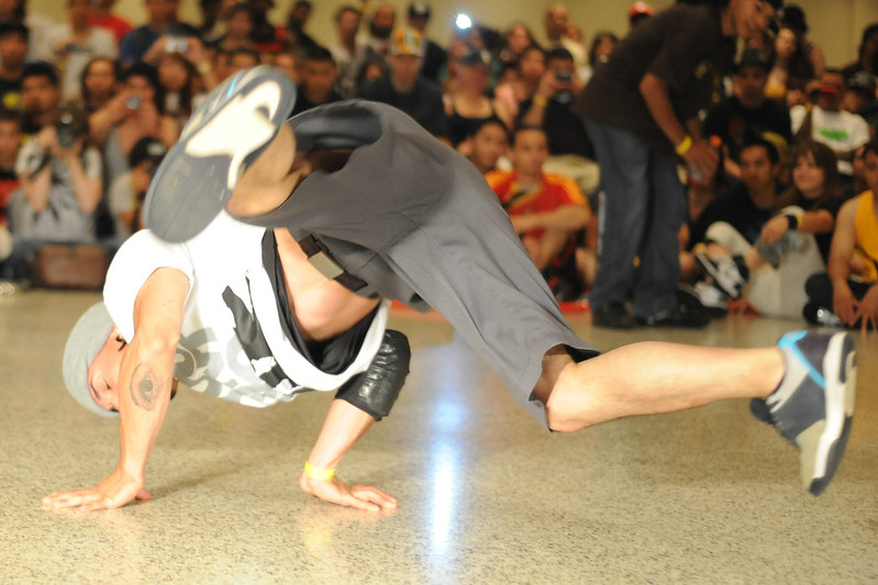 BBoy Berto always has his eye on you