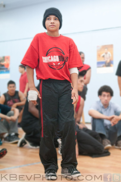 BBpy M-Rock before his first battle!  It was a good showing by the young brother