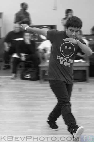 BBoy Chucky in his first battle (I think)