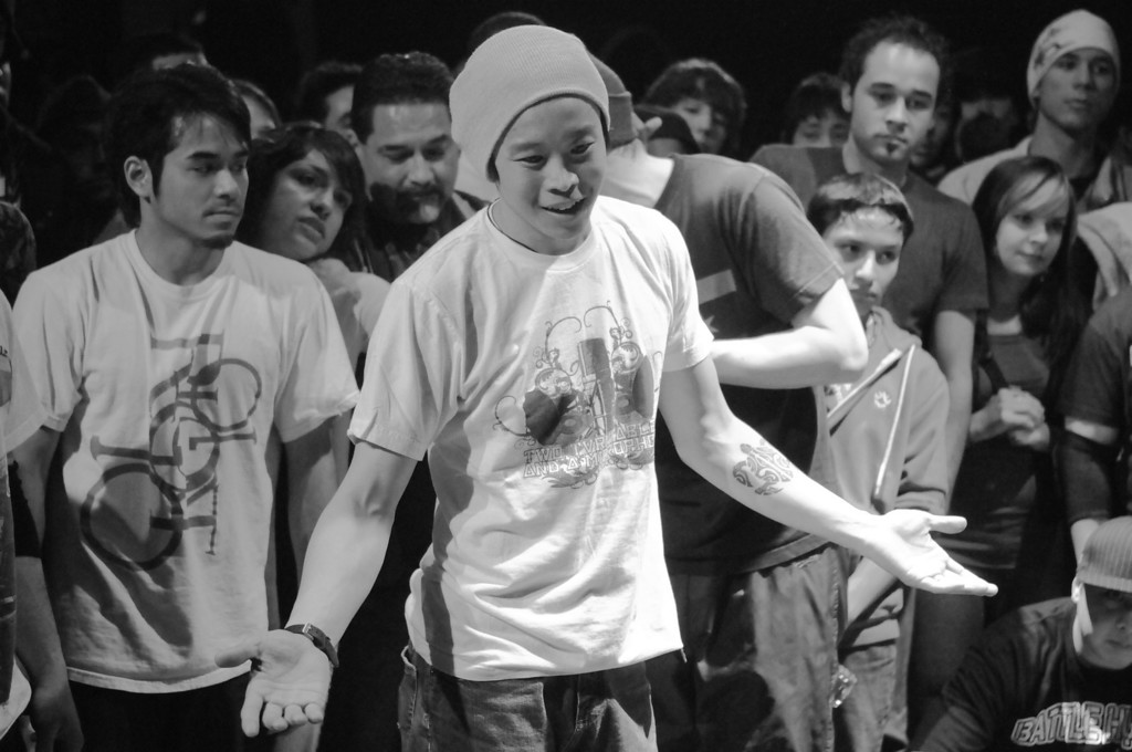 BBoy Check-it, the host with the most